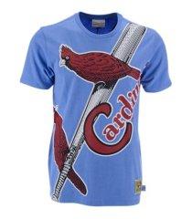 mitchell & ness st. louis cardinals men's big face t-shirt