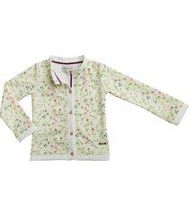 chaqueta flores estilo rosa carli