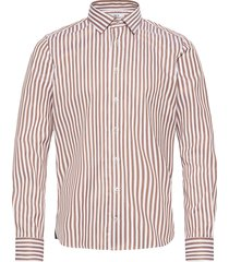 8734 - jake sc skjorta business beige xo shirtmaker by sand copenhagen