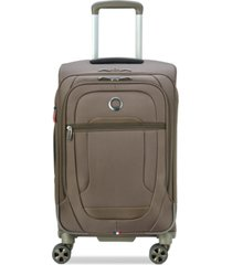 "delsey helium dlx 22"" softside carry-on spinner, created for macy's"