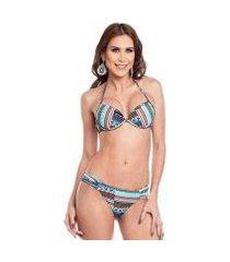 biquini com bojo bolha maré brasil feminino