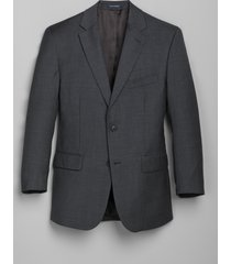jos. a. bank men's 1905 navy collection slim fit suit separate jacket - big & tall, dark grey, 52 regular