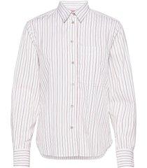 fila shirt långärmad skjorta vit britt sisseck