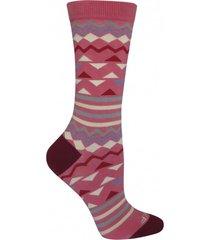 calcetin algodón mujer newtrian rosa rockford