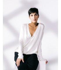 bluzka luźna z wiskozy