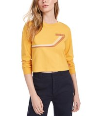 dickies cotton cropped t-shirt