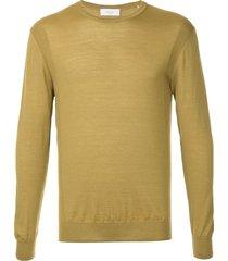 cerruti 1881 lightweight sweater - yellow