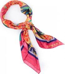 bandana flower rosa humana