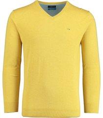 bos bright blue pullover geel v-hals 20105vi01bo/440 yellow