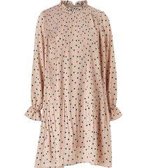 klänning vmdorit l/s pleat short dress