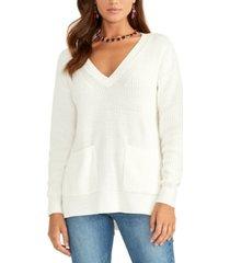 rachel rachel roy knit v-neck sweater