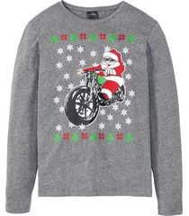 maglia natalizia slim fit (grigio) - rainbow
