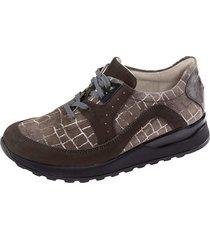 skor för breda fötter waldläufer grå