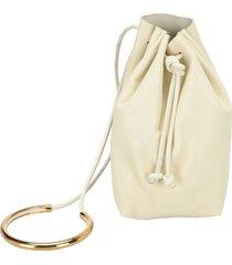 jil sander pouch-style bracelet bag