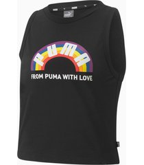 pride tanktop, zwart, maat xl | puma