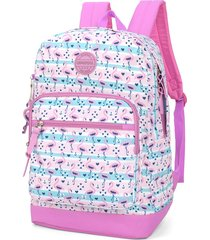 mochila escolar juvenil flamingo up4you luxcel 45767 pink