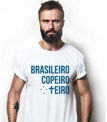 camiseta zé carretilha - cru-raposa-copeiro masculina