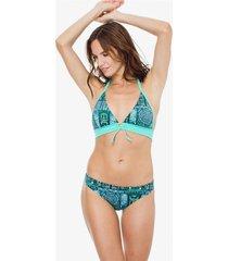 bikini verde mare moda free