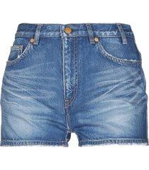 jil sander denim shorts