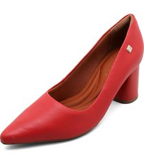 zapato casual rojo ramarim