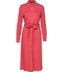 dresses knitted knälång klänning rosa esprit collection