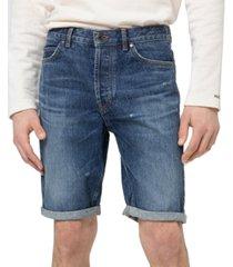 """hugo hugo boss men's 634s tapered-fit 10"""" denim shorts"""