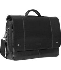 kenneth cole reaction leather laptop messenger bag