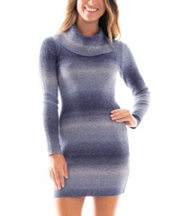 bcx juniors' striped sweater dress