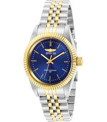 reloj invicta multicolor modelo 294gc para mujer, colección specialty