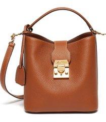 'murphy' leather small bucket shoulder bag