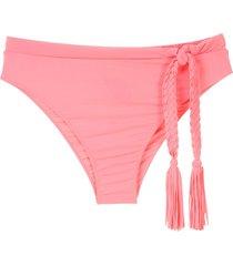 clube bossa rosita treme bikini bottom - pink
