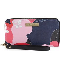 zip-aroundwristlet pvc wallet