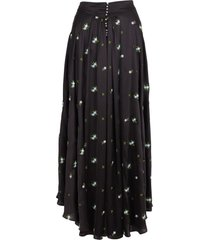 paco rabanne polyester skirt