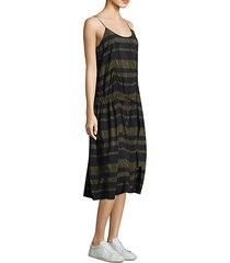 veola striped dress