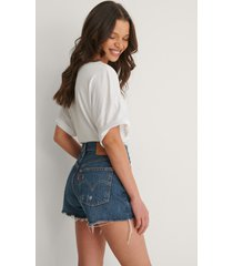 levi's 501 high rise shorts - blue