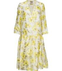 aden jurk knielengte geel baum und pferdgarten