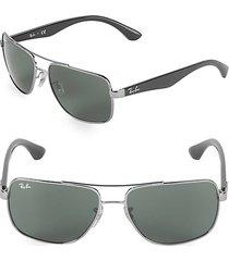 60mm square sunglasses