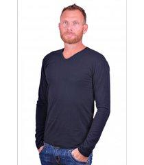 alan red t-shirt model oslo (longsleeve) blue