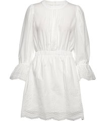 neo lace korte jurk wit line of oslo