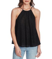 1.state lace halter top