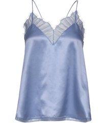 berwyn blus ärmlös blå iro