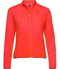 vent pack jkt w outerwear sport jackets röd craft