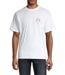 sandro men's h19 spring t-shirt - light pink - size xxl