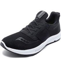 zapatilla deportiva stretch & go breeze negro saucony