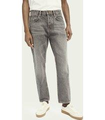 scotch & soda the norm high-rise jeans ─ grey smoke