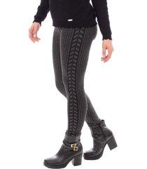 calã§a legging de malha sumarã© 31065 preto - preto - feminino - dafiti