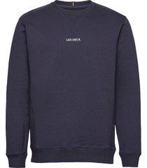 lens sweatshirt sweat-shirt trui blauw les deux