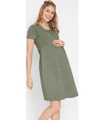 jersey zwangerschapsjurk / voedingsjurk