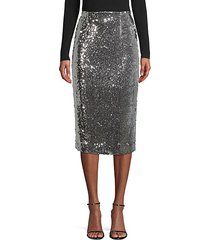 jamie sequin pencil skirt