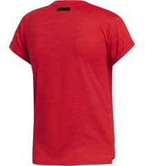 remera adidas tenis matchcode mujer rojo